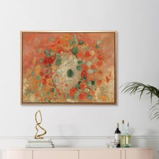 Nasturtiums - Tranh canvas treo tường danh hoạ Odilon Redon