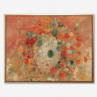 Nasturtiums - Tranh canvas treo tường danh hoạ