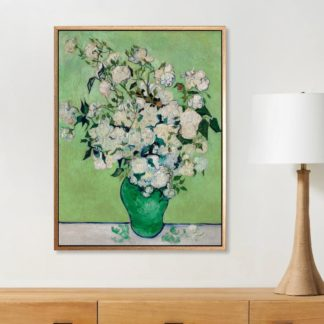 Roses - Tranh canvas treo tường danh hoạ Vincent Van Gogh