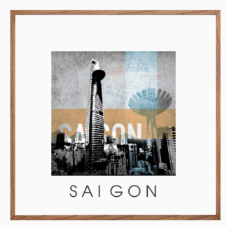 Poster Sài Gòn treo tường