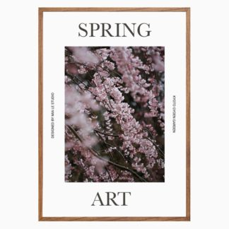 Poster Spring Art treo tường