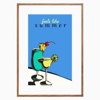Poster Summer treo tường