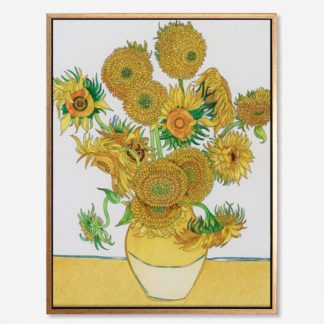Sunflowers - Tranh canvas treo tường danh hoạ