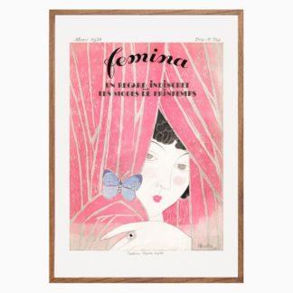 Poster The fashion magazine as tempstress