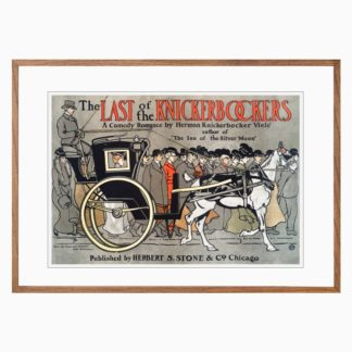 Poster The Last of the Knickerbockers Edward Pènield