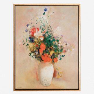 Vase of flowers - Tranh canvas treo tường danh hoạ
