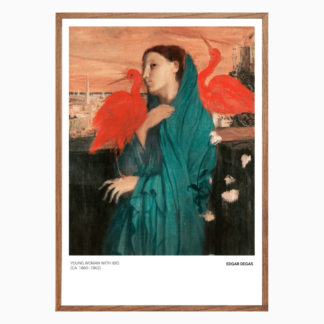 Poster Young Woman