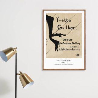 Poster Yvette Guilbert (1894)