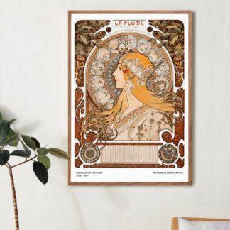 Poster Zodiaque Alphoneses Maria Mucha
