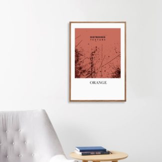 Poster Orange treo tường