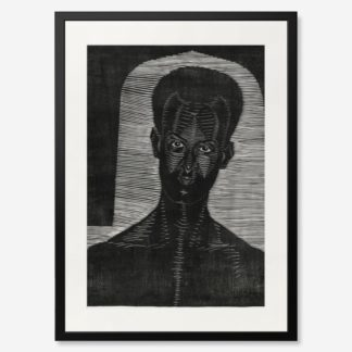 tranh-khung-kinh-treo-tuong-Portret-van-onbekende-man
