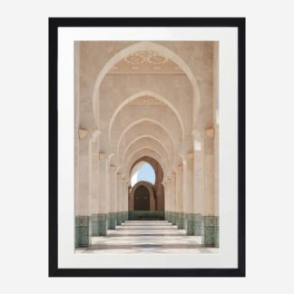 Lối nhỏ - Tranh khung kính treo tường 30x42cm