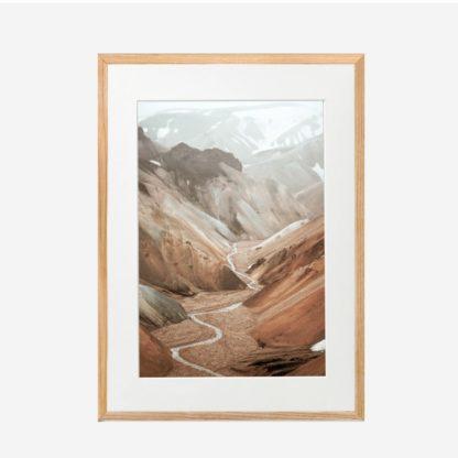 The Valley - Tranh khung kính treo tường 30x42cm