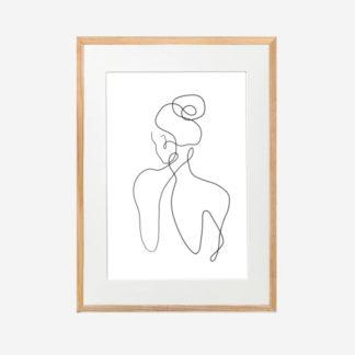 Shape of you 2 - Tranh khung kính treo tường 30x42cm