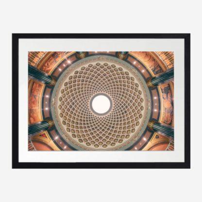 Palace Ceiling - Tranh khung kính treo tường 30x42 cm