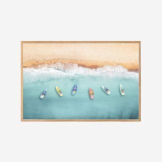 By The Sea - Tranh khung kính ngang treo tường 40x60cm