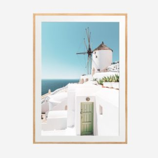 Santorini 2 - Tranh khung kính treo tường 50X70cm