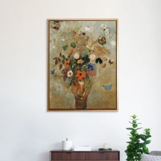 Still Life with Flowers  - Tranh canvas treo tường danh hoạ 60x80 cm