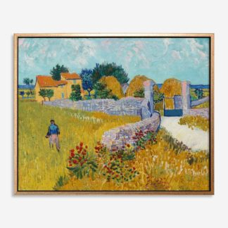 Farmhouse in Provence (1888) - Tranh canvas treo tường danh hoạ 80x100 cm
