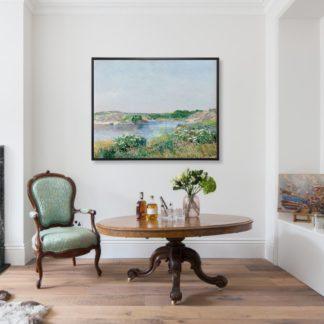 The Little Pond, Appledore (1890) - Tranh canvas treo tường danh hoạ