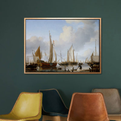 A Calm - Tranh canvas treo tường Willem van de Velde