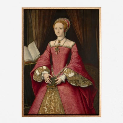 Elizabeth I when a Princess - Tranh canvas treo tường Attributed To William Scrots