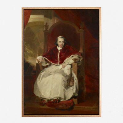 Pope Pius VII (1742-1823) - Tranh canvas treo tường Sir Thomas Lawrence