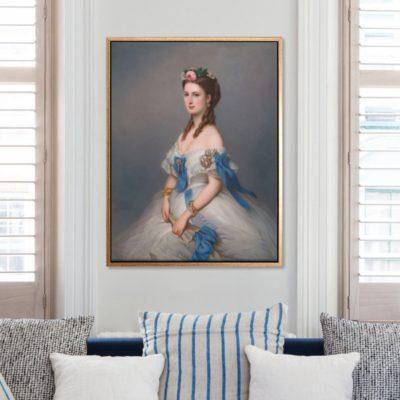 Queen Alexandra (1844 -1925) - Tranh canvas treo tường Anonymous