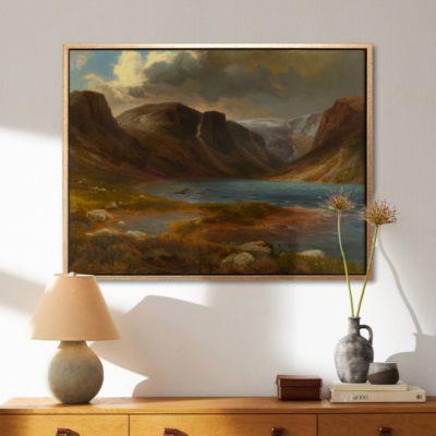 Loch Avon - Tranh canvas treo tường August Becker