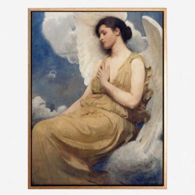 Winged Figure (1889) - Tranh canvas treo tường Abbott Handerson Thayer