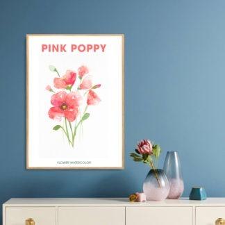 Poster Pink Poppy