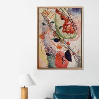 Aquarell - Tranh canvas treo tường danh hoạ Wassily Kandinsky