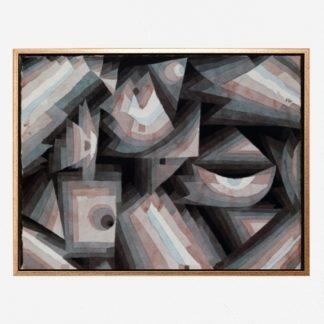 Crystal gradation (1921) - Tranh canvas treo tường danh hoạ Paul Klee