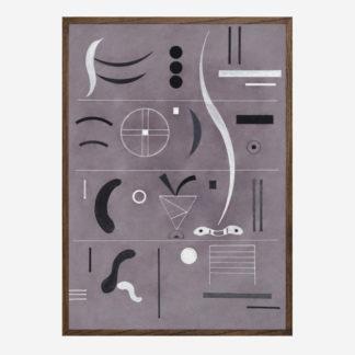 Four Parts (1932) - Tranh canvas treo tường danh hoạ Wassily Kandinsky