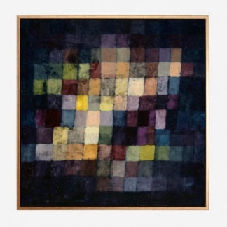 Old sound (1925) - Tranh canvas treo tường danh hoạ Paul Klee